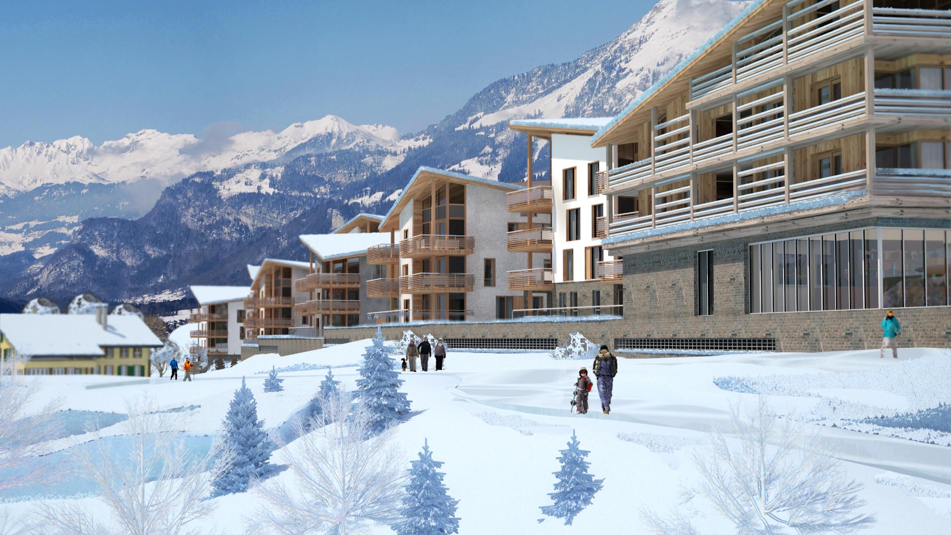 Ski chatlet Switzerland